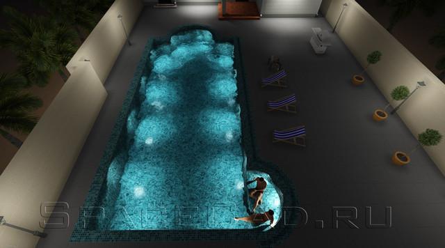 3D моделирование и визуализация бассейна. Расчет и проектирование бассейна
