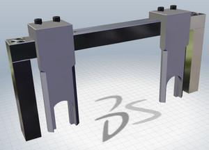 Специнструмент для регулировки фаз BMW. 3D модель